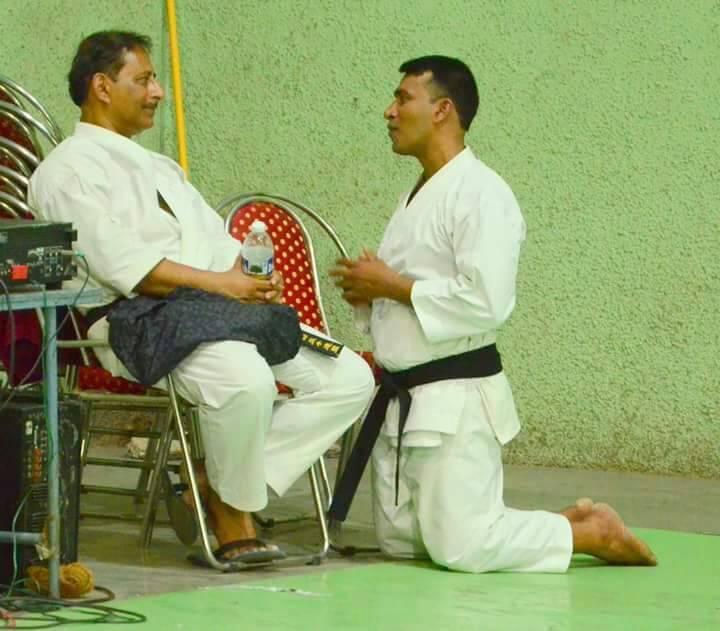 About Sensei Santosh Mohite - Champions Karate Club